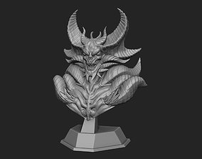 doom Demon Lord bust 3D Printing