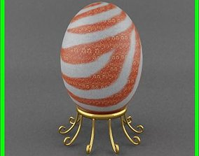 3D Easter egg candle