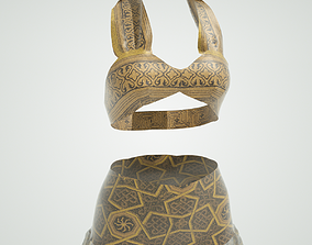 Belly Dancer Outfit 3D model
