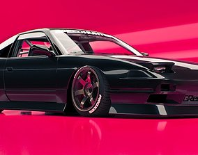 3D nissan 240sx tuning