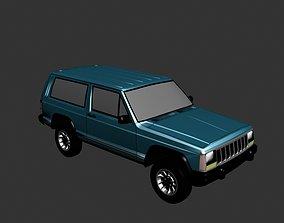 3D printable model Jeep Grand Cherokee 1990
