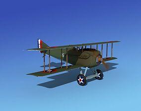3D animated historic SPAD VII