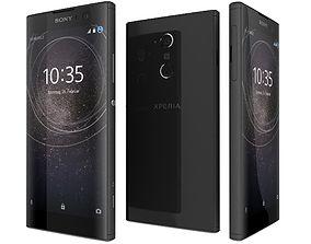 3D Sony Xperia XA2 Black