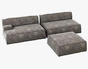 Baxter Damasco Sofa 3D