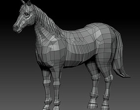 realtime 3D HORSE LOWPOLY
