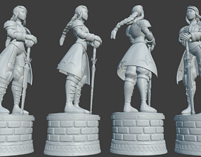 3D print model Agrias- Holy Knight- Final Fantasy Tatics