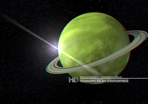 Saturn - space planet