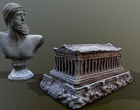 VR / AR ready Greek statues 3d scanned
