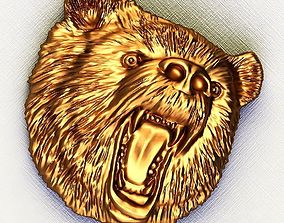 Applied part Bear 3D print model