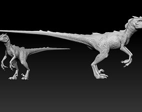 Velociraptor dinosauree 3D