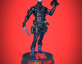 Snake Eyes Printable Statue