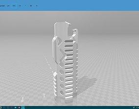 3D print model handguard hobby-diy