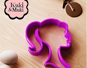 Barbie Silhouette Cookie Cutter 3D print model