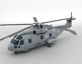 Agusta Westland EH-101 Helicopter 3D model