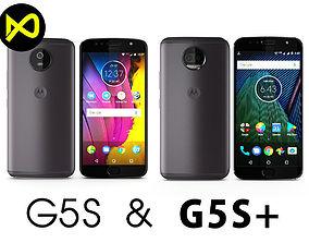 3D Motorola Moto G5S And G5S Plus Gray