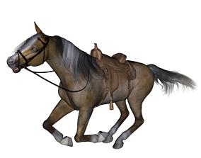 3D printable model nature Horse