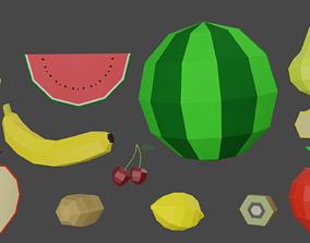 Fruit Pack 3D asset