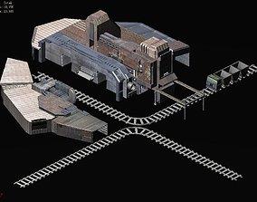 Mining-excavation-site 3D model