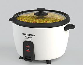 3D model Black Decker Rice Cooker