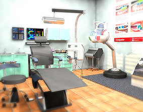 3D model DENTAL HEALTH ROOM