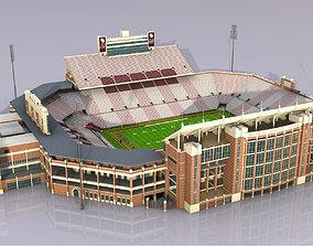 Gaylord Family Oklahoma Memorial Stadium 3D asset