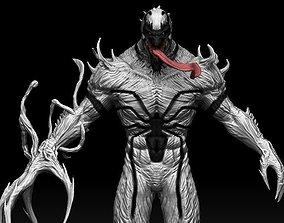 anti 3D model Anti Venom maquette