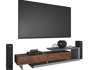 TV cabinet Cattelan Italia Link 3D stand