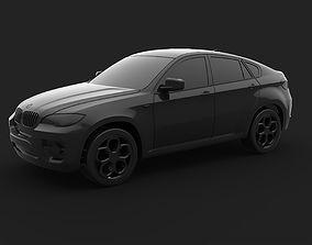 SUV X6 3D print model