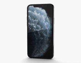3D model Apple iPhone 11 Pro Max Silver