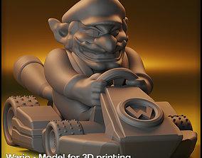3D printable model Wario Mario Kart - Wario for Monopoly