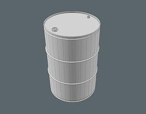 oil barrel petroleum 3D model