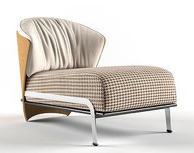 Elba Lounge Chair 3D model