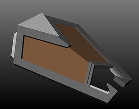 Dwarven Kite Shield 3D printable model