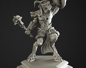 3D print model satyr soldier