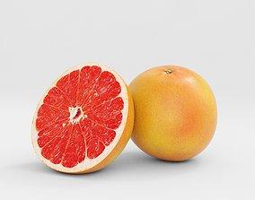 3D Grapefruit juice