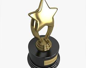 Star Trophy 3D model