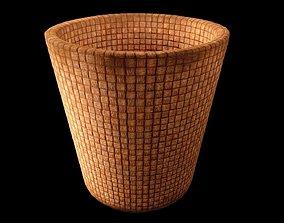 Wicker Bin 3D model