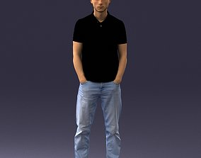 Man in casual clothes 1226 3D