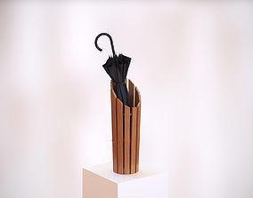3D Wooden umbrella holder