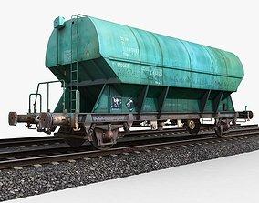 3D model Hopper Wagon