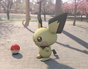 3D model Pokemon Pichu