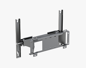 3D model TV Monitor Wall Mount