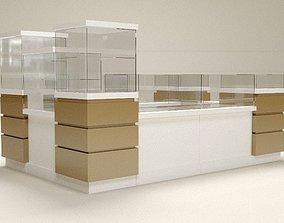 Commercial island 2 3D model