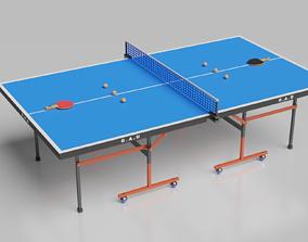 3D Table Tennis Set