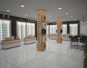 3D pharmacy scene