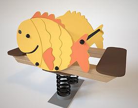 3D Playground Spring - Fish
