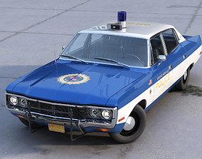 3D AMC Matador Police 1972