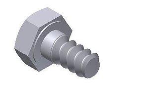 3D print model Hex Head Metric 4x7mm