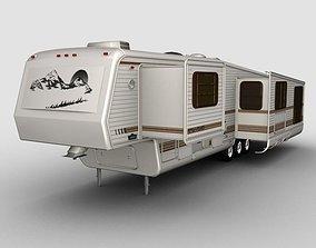 5th Wheel teton Trailer 3D