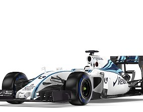 F1 Williams FW37 2015 3D model
